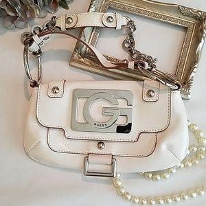 Guess Patetent Leather Mini Bag